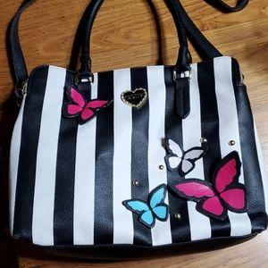 Betsy Johnson Butterfly Bag